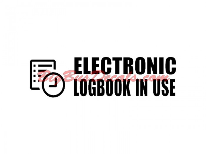 Electronic LogBook in Use (2 pcs)