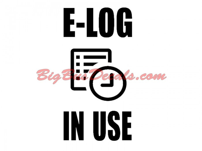 E-Log In Use (2 pcs)