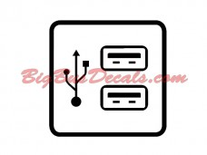 USB outlets (2 pcs) (B4)