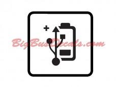 USB battery outlets (2 pcs) (B5)