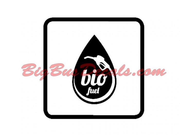 Set of 2 Bio Fuel Decals sticker