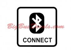 Bluetooth Connect Decals (2pcs) (C2)