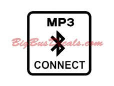 Bluetooth MP3 Connect Decals (2 pcs) (C1)