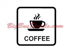 COFFEE Decals (2 pcs) (D3)