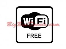 Free WIFI (2 pcs) (A2)