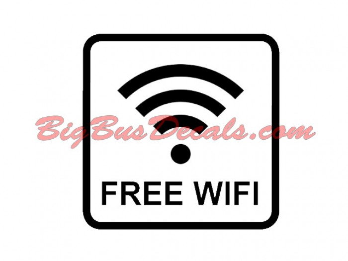 Free WIFI up (2 pcs) (A4)