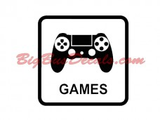 GAMES Decals (2 pcs) (C6)