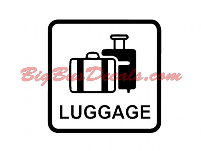 Luggage Decals  sticker