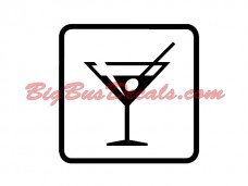 DRINKS / BAR Decals (2 pcs) (D1)