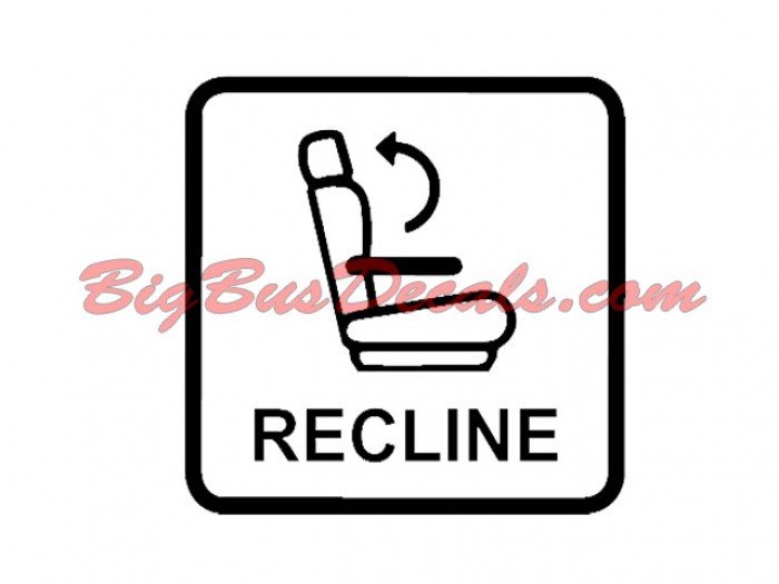 Reclining seats Decals ticker