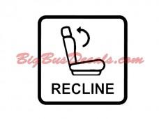 Reclining seats Decals (2 pcs) (E2)
