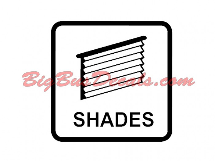 Set of 2 Shades Decals stickers