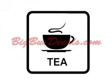 TEA onboard Decals (2 pcs) (D2)