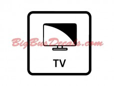 TV onboard Decals (2 pcs) (C8)