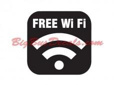 Free WIFI (2 pcs) (A6)
